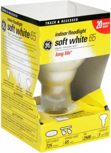 GE 65-Watt R30 Indoor Floodlight Bulb Perspective: front