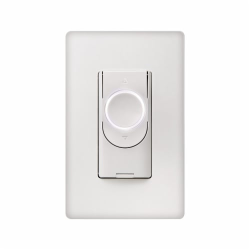 GE Smart Switch-Dimmer - White Perspective: front
