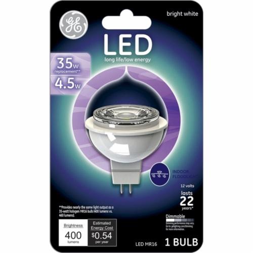 GE 4.5-Watt (35-Watt) MR16 LED Light Bulb Perspective: front