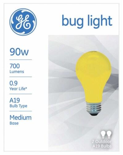 GE 90-Watt Bug Lite Outdoor Light Bulbs Perspective: front