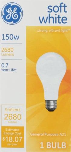 GE 150-Watt A21 General Purpose Incandescent Light Bulb Perspective: front