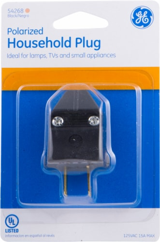 GE Household Plug Perspective: front