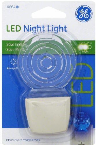 GE Lollipop LED Night Light - Blue Perspective: front