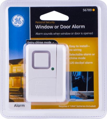 GE Wireless Window Alarm Perspective: front