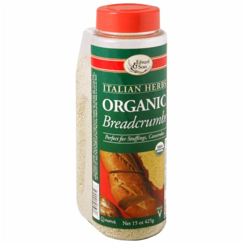 Edward & Sons Organic Italian Herb Breadcrumbs Perspective: front