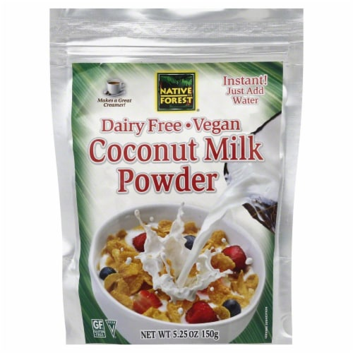 Native Forest Dairy Free Vegan Coconut Milk Powder Perspective: front