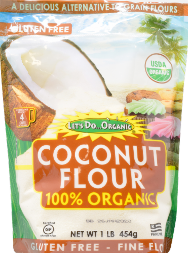 Let's Do Organic Gluten Free Coconut Flour Perspective: front