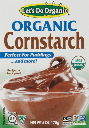 Let's Do Organic® Cornstarch Perspective: front