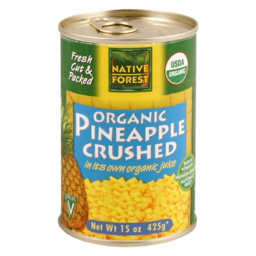 Native Forest Organic Crushed Pineapple Perspective: front