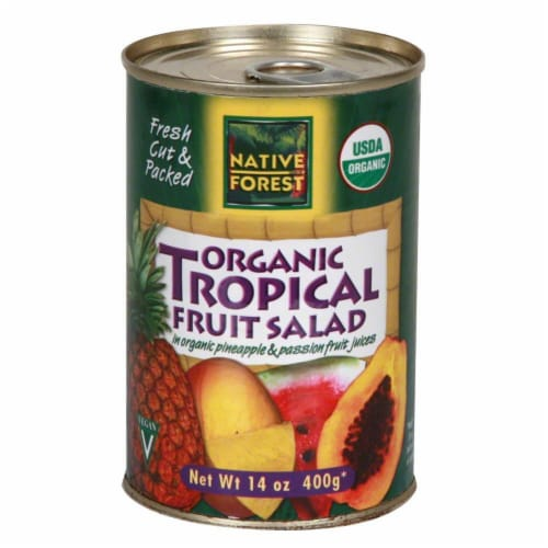 Native Forest Organic Tropical Fruit Salad Perspective: front