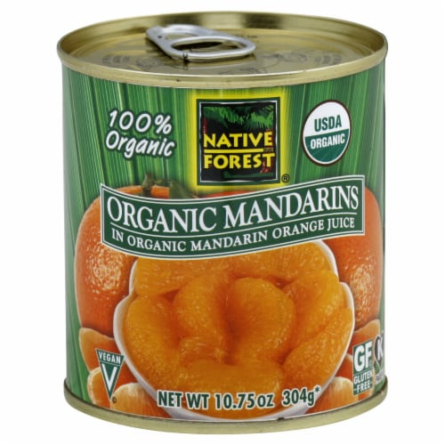 Native Forest Organic Mandarins Perspective: front
