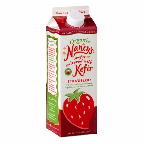 Nancy's Strawberry Kefir Perspective: front