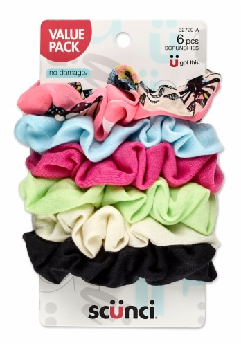 Scunci Assorted Scrunchies Value Pack Perspective: front