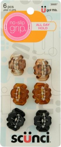 Scunci No Slip Grip 2.5cm Mini Octopus Clip Perspective: front