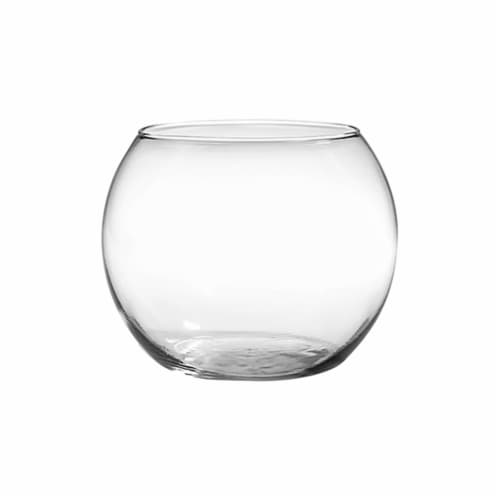 Anchor Hocking Rose Bowl - Clear Perspective: front