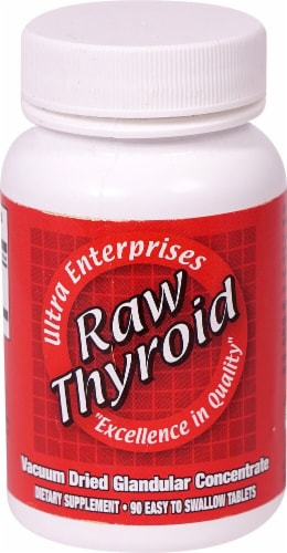Ultra Glandulars  Raw Thyroid Perspective: front