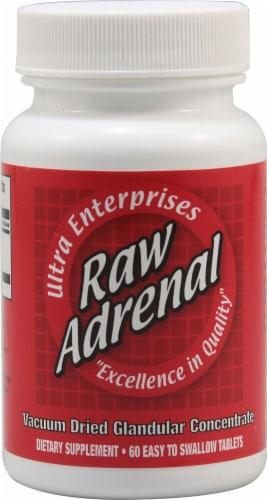 Ultra Glandulars  Ultra Enterprises Raw Adrenal Perspective: front