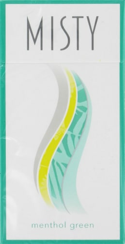 King Soopers - Misty Green Menthol 100s Cigarettes, 1 Count