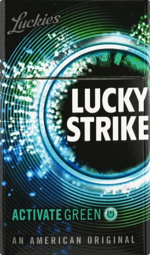 Lucky Strike Activate Green Cigarettes Perspective: front