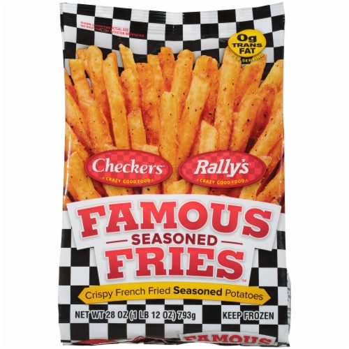 Checkers/Rally's Famous Seasoned Fries Perspective: front