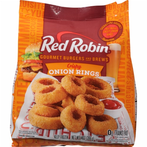 Red Robin Crispy Onion Rings Perspective: front