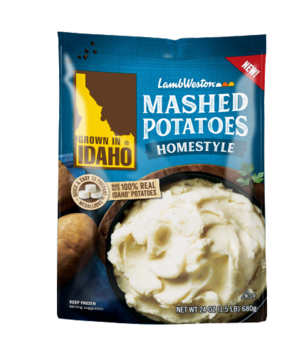 Grown In Idaho Homestyle Mashed Potatoes Perspective: front