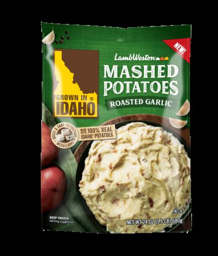 Lamb Weston Mashed Potatoes - Roasted Garlic Perspective: front