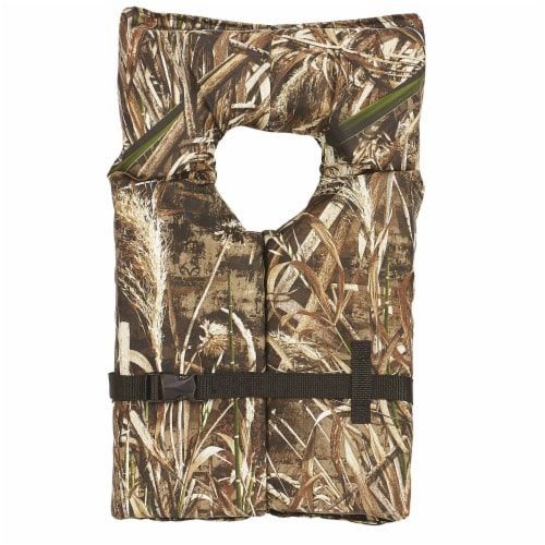 Onyx 102000-812-004-15 Onyx Adult Type II Life Jacket-Realtree Max5-Univ Perspective: front