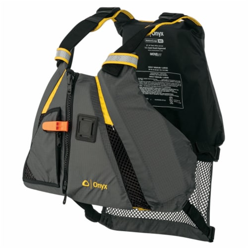 Onyx 122200-300-060-18 Onyx Movevent Dynamic Vest - Yellow XL 2X Perspective: front