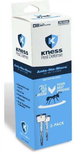 Kness Ants-No-More Ant Bait Stations Perspective: front