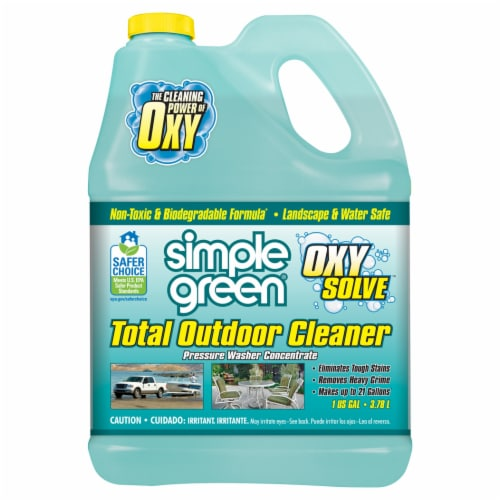 Simple Green Oxy Solve Pressure Washer Concentrate Total Outdoor Cleaner Perspective: front