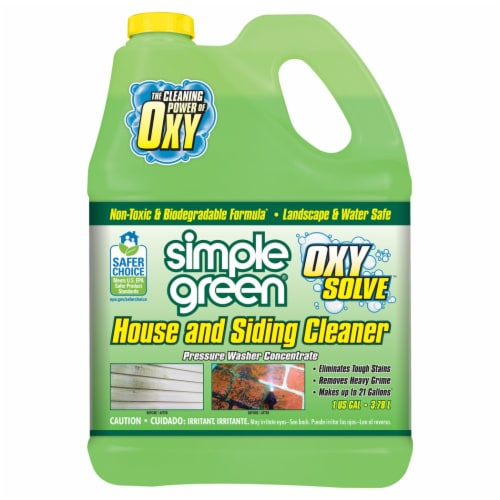 Simple Green Oxy Solve Pressure Washer House and Siding Cleaning Concentrate Perspective: front
