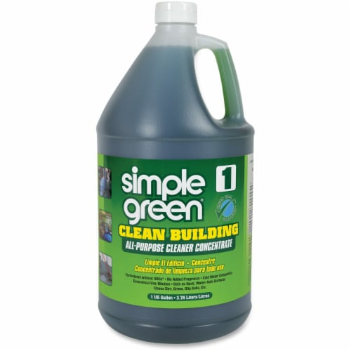Simple Green Clean Building All-Purpose Cleaner Concentrate, 1 Gal Bottle 11001 Perspective: front
