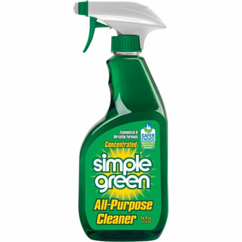 Simple Green 16 Oz. Liquid Concentrate  All-Purpose Cleaner & Degreaser Perspective: front