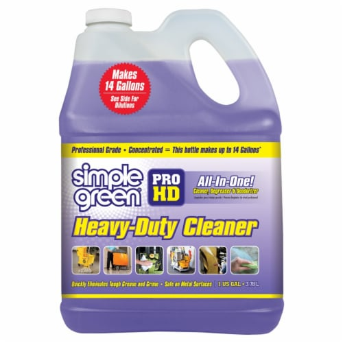 Simple Green Pro HD Heavy-Duty Cleaner - Purple Perspective: front