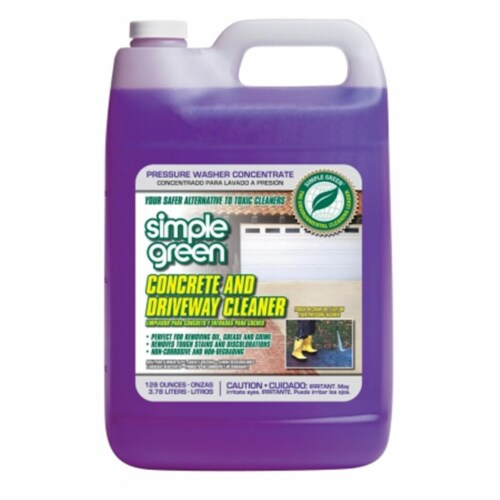 Simple Green Concrete Cleaner,Jug,1 gal.  2310000418202 Perspective: front