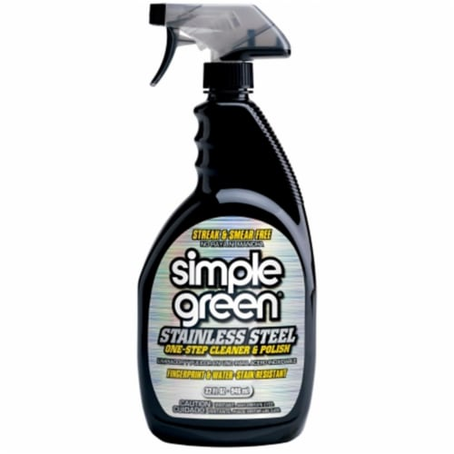 Simple Green Metal Cleaner and Polish,32 oz  3510001218300 Perspective: front
