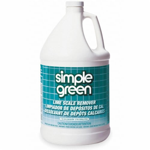 Simple Green Lime Scale Remover, Wintergreen, 1 Gal, Bottle, 6/Carton 50128 Perspective: front