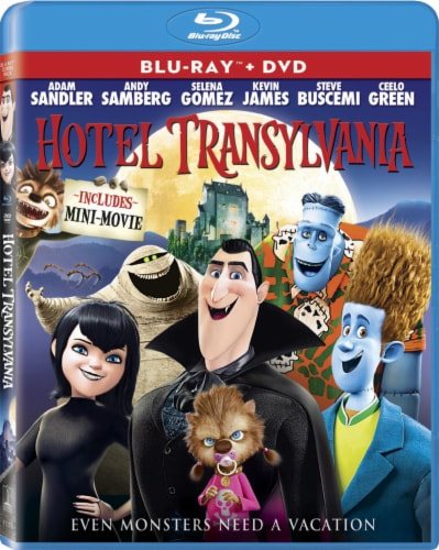Hotel Transylvania (2012 - Blu-ray/DVD/UltraViolet) Perspective: front