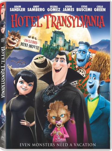 Hotel Transylvania (2012 - DVD/UltraViolet) Perspective: front