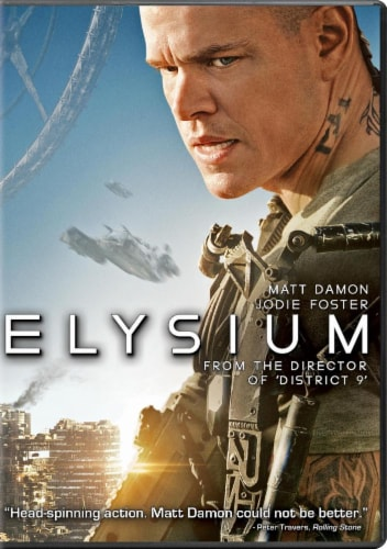 Elysium (2013 - DVD/UltraViolet) Perspective: front