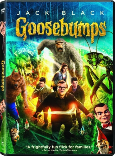 Goosebumps (2015 - DVD) Perspective: front
