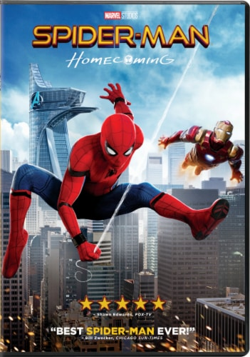 Spiderman: Homecoming (2017 - DVD)  Available in-store after 10/17/17 Perspective: front