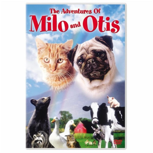 The Adventures of Milo and Otis (1986) DVD Perspective: front