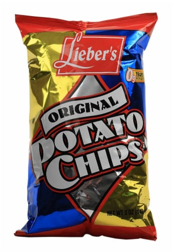 Lieber's Origional Potato Chip Perspective: front