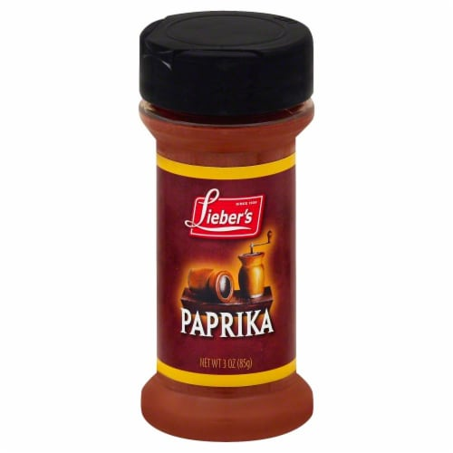 Lieber's Paprika Spice Perspective: front
