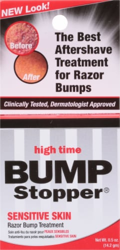 High Time Bump Stopper Sensitive Skin Razor Bump Treatment Perspective: front