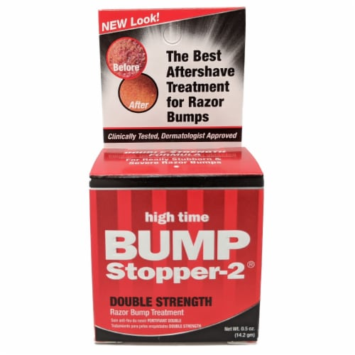 Bump Stopper-2 Double Strength Razor Bump Treatment Perspective: front