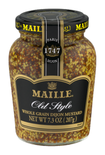 Maille Old Style Dijon Mustard Perspective: front