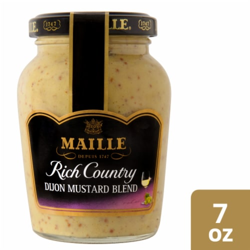 Maille Rich Country Dijon Mustard Blend Perspective: front